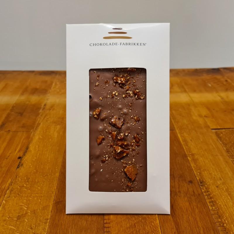 Lys chokolade med krokant