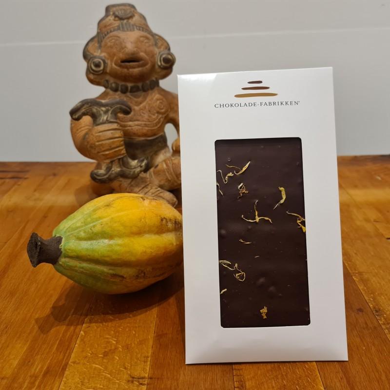 Mørk chokolade med ingefær og citron