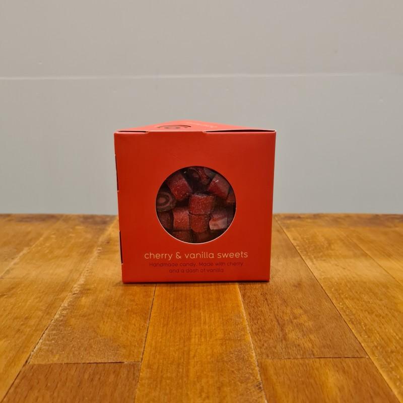 Gourmet bolsjer fra Bolcheriet: kirsebær og vanilje