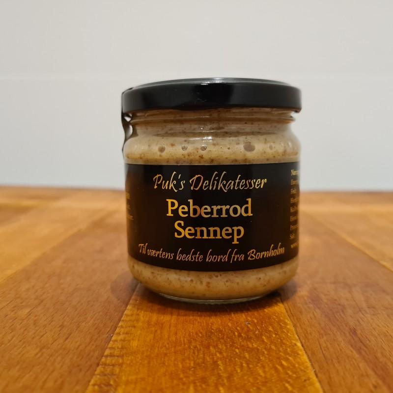 Puk`s delikatesser: Peberrod sennep