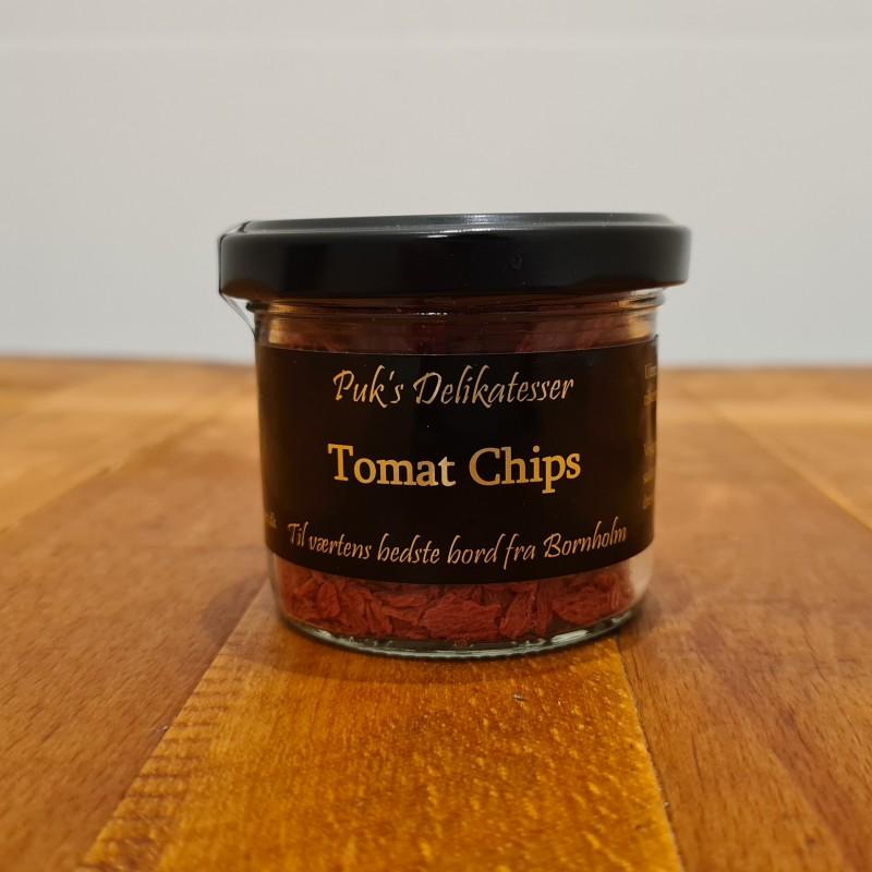 Puk`s delikatesser: Tomat chips