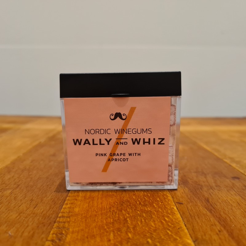 Wally and whiz vingummi med pink grape og abrikos