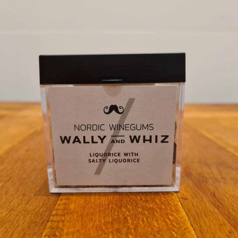 Wally and whiz vingummi med lakrids og saltlakrids