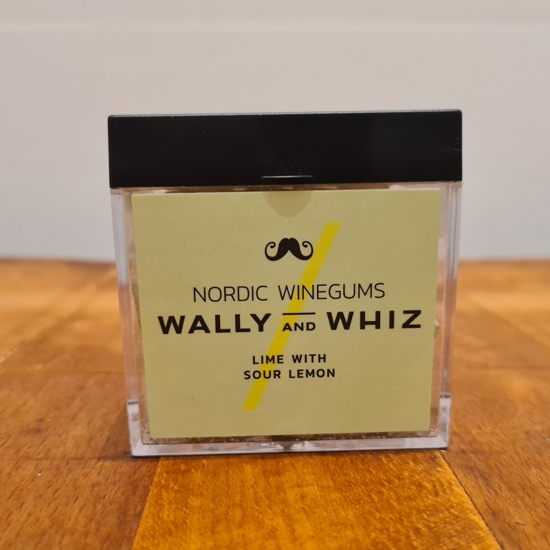 Wally and Whiz vingummi lime med sur citron