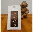 Lys og mørk chokolade med crunch