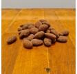 Dragerede mandler med mørk chokolade og ingefær
