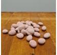Dragerede mandler med hvid chokolade og jordbær