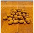 Dragerede mandler med hvid chokolade og rålakrids