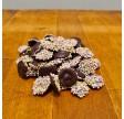 Harlekinknapper i mørk chokolade
