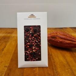 Mørk chokolade med 3 slags bær