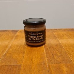 Puk`s delikatesser: Peanut butter med chokolade