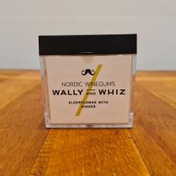 Wally and whiz vingummi med hyldeblomst og ingefær