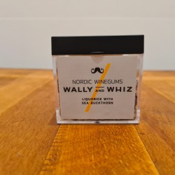 Wally and whiz vingummi lakrids med havtorn